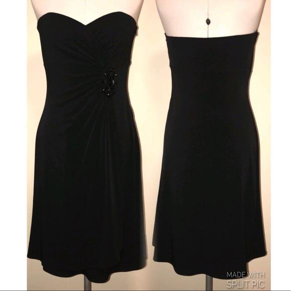 3066b185a3c41 White House Black Market Dresses   Whbm Black Strapless Dress   Poshmark